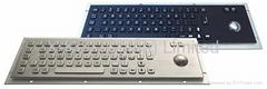Anti-vandal Kiosk Metal Keyboard X-BP66B