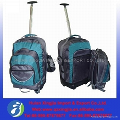 latest desgin outdoor travel trolley backpack