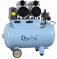 供应实验室静音无油空压机DA5002