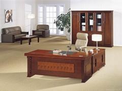 長期供應武漢酸枝色系列辦公傢具?1.6米,1.8米等