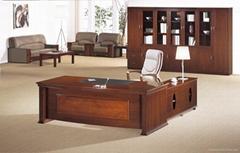 供应武汉胡桃色办公家具,1.8米,2米,2.2米,2.4米等