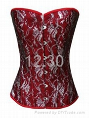 Worldwide hot sale sexy corset with best quality