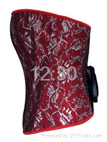 Worldwide hot sale sexy corset with best quality 3