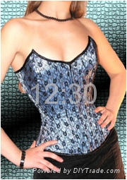 Worldwide hot sale sexy corset with best quality 5