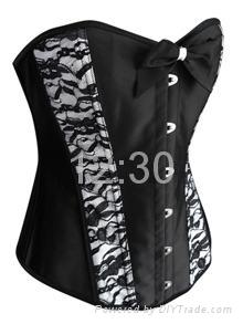 Top quality fashion corset supply 2