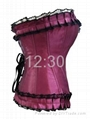 Celebrity style sexy corset, factory price for small or large shop owners. 4