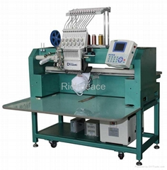 Richpeace Flat + Cap + Tubular Single Head Embroidery Machine