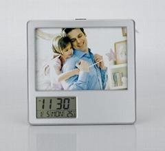 pen holder calendar with photo frame