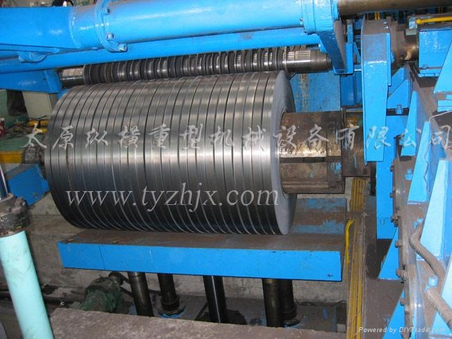 纵剪机组生产线_