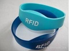 硅橡膠RFID手錶型腕帶
