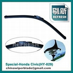 Frameless Windshield Wiper Blades