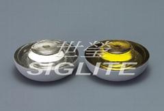 Siglite 360 degree tempered glass road marking reflector, slip-proof (SIG-14sp)