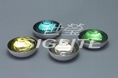 Siglite 360 degree tempered glass road marking reflector, slip-proof (SIG-19sp)