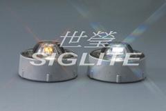 Siglite solar tempered glass warning light (A68)