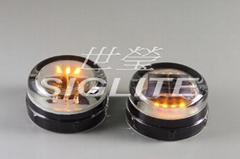 Siglite solar tempered glass warning light (A666)