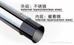 供應304不鏽鋼管 晾衣架用不鏽鋼復合管