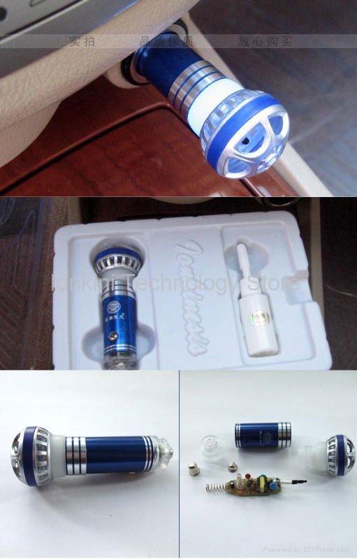 Mini Aromatherapy Car Oxygen Bar Air Purifier 3