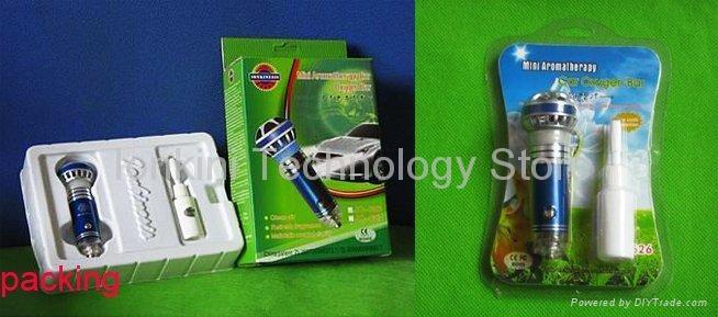 Mini Aromatherapy Car Oxygen Bar Air Purifier 4