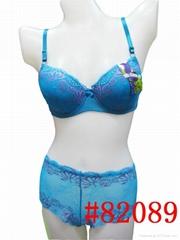 ladies bra set    82089#