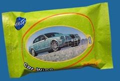 供应清洁护理湿巾-汽车湿巾