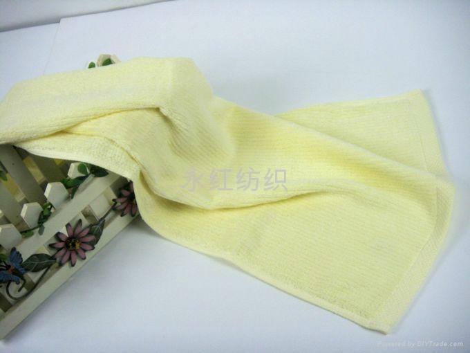 歡靜勾條竹纖維毛巾 2
