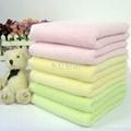 歡靜勾條竹纖維毛巾 3