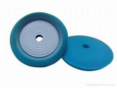 螺紋膠托拋光盤 (藍)
