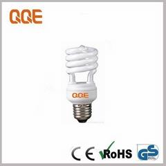 Half spiral 15W Energy saving lamp cfl lamp