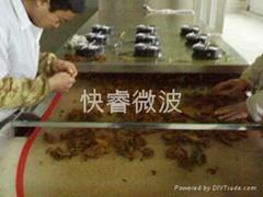 瓜子坚果微波烘焙设备