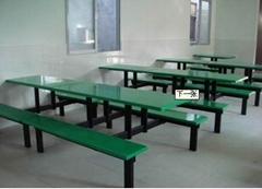 玻璃鋼快餐桌定製