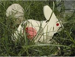 LED景觀玉兔定製