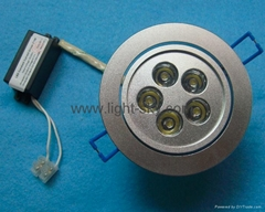 5W Dimmable LED Downlight