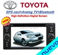 Special Toyota DVD player with GPS/iPod