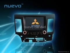 "Mitsubishi  Lancer Ex DVD player GPS DVD DVB-T/TV 8"" TFT LCD 16:9 panel"