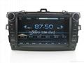 "Large 8"" Toyota corolla DVD with GPS Digital TV(2007-2011) 3"