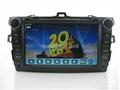 "Large 8"" Toyota corolla DVD with GPS Digital TV(2007-2011) 5"