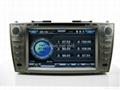 "Large 8"" Toyota Camry DVD with GPS ATV iPod Bluetooth Radio  3"