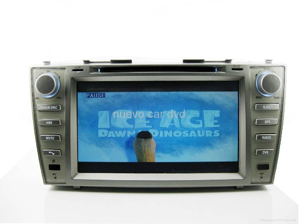 "Large 8"" Toyota Camry DVD with GPS ATV iPod Bluetooth Radio  4"