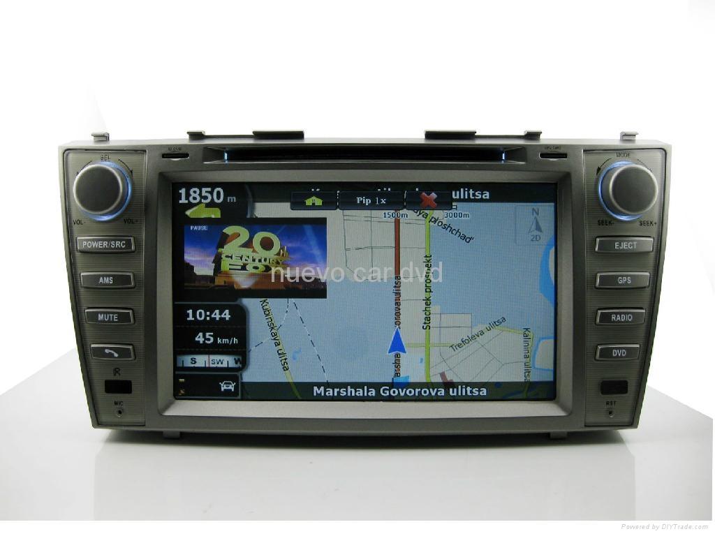 "Large 8"" Toyota Camry DVD with GPS ATV iPod Bluetooth Radio  5"