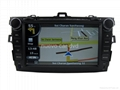 "Large 8"" Toyota Corolla DVD GPS player(2007-2011) 4"