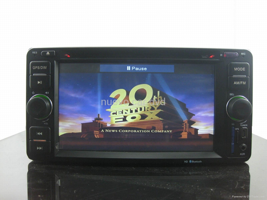 Special Toyota DVD player with GPS/iPod/Bluetooth/800*480 3