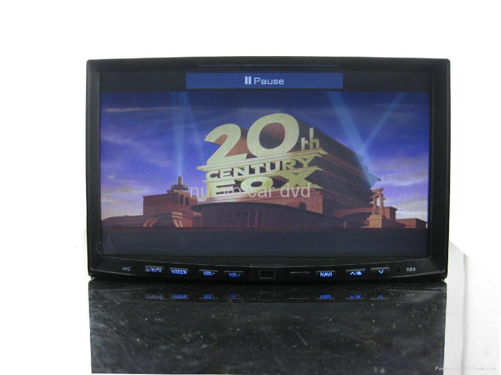 7 inch Double Din car dvd with GPS Digital TV(DVB-T/MPEG-4) 4