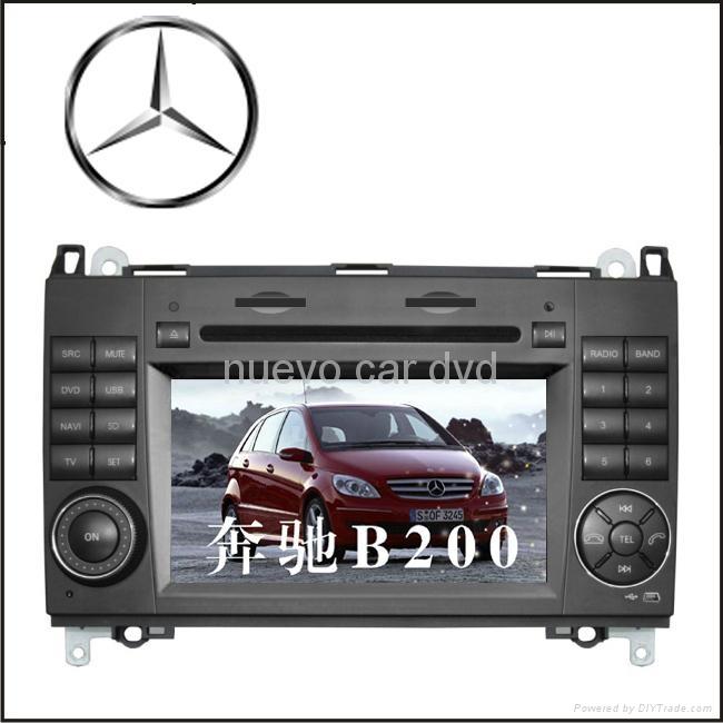 Special Benz B200 DVD Player with GPS Bluetooth Radio 3D menu PIP 1