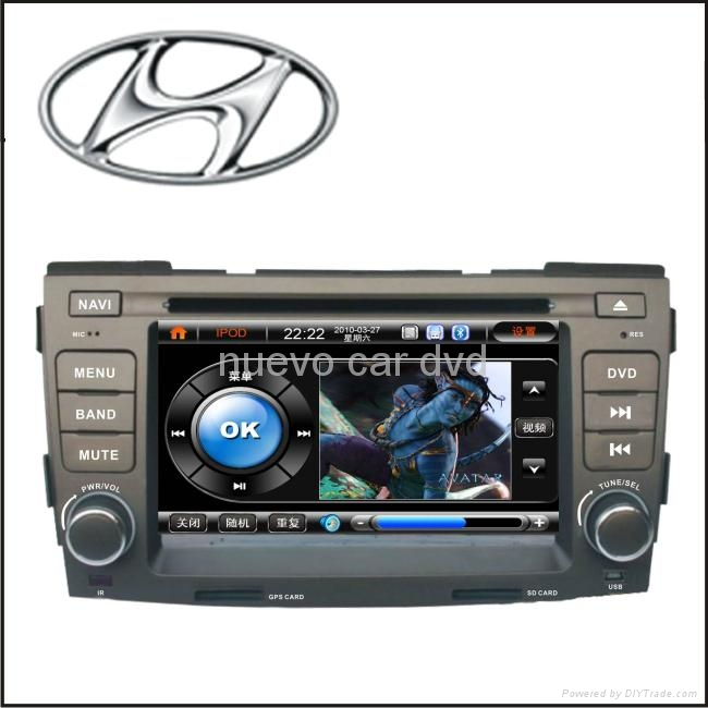 Special Hyundai Sonata DVD Player with GPS Bluetooth 3D Menu PIP(2008 ...
