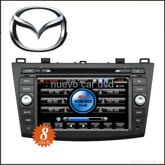 "Special 8"" New Mazda3 DVD Player with GPS Bluetooth Radio 3D Menu PIP(2010-) 1"