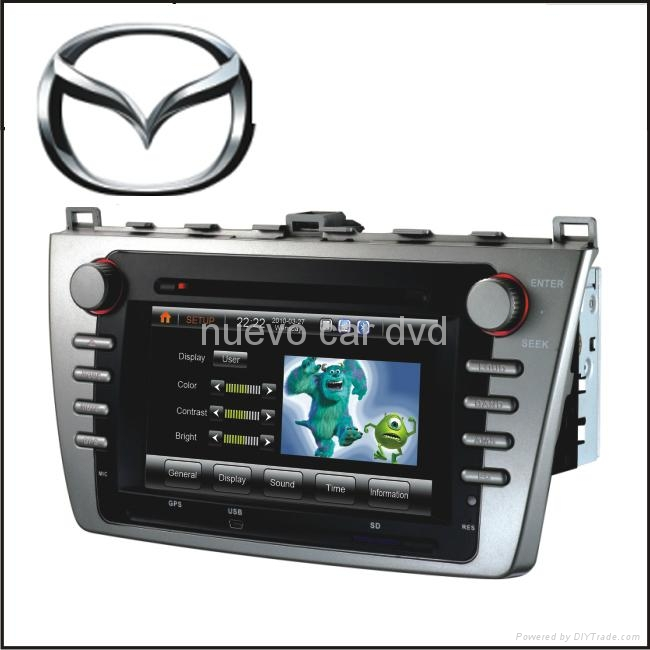 Special New Mazda6 DVD Player with GPS Bluetooth Radio 3D Menu PIP(2010-) 1