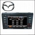 Special Mazda3 DVD Player with GPS Bluetooth Radio 3D Menu PIP(2006-2010) 1
