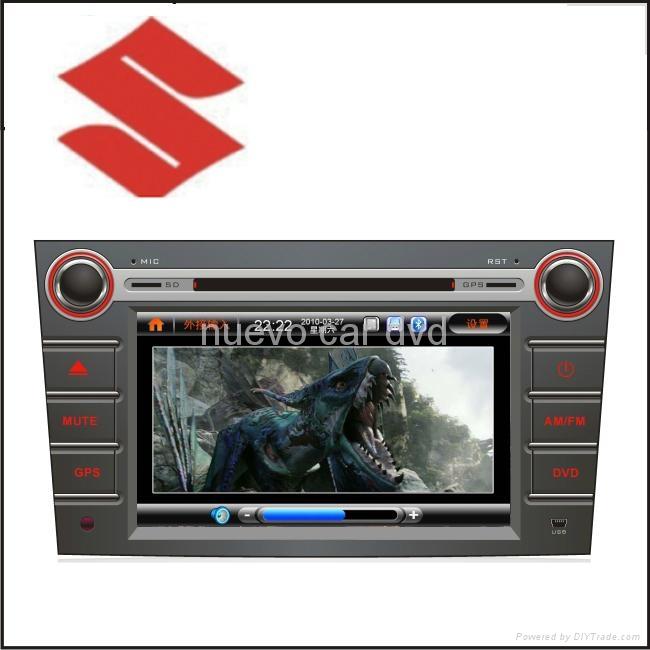 "Special Large 8"" Suzuki Swift DVD Player with GPS Bluetooth Radio 3D Menu PIP 1"