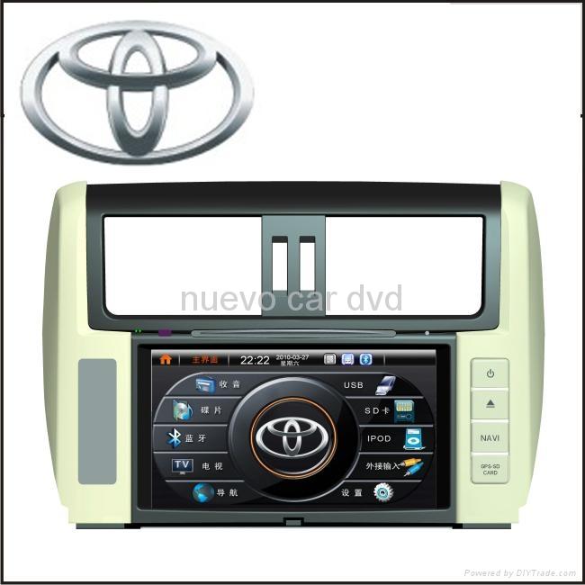 Special Toyota New Land Cruiser Prado DVD Player with GPS Navigation(2010-) 1
