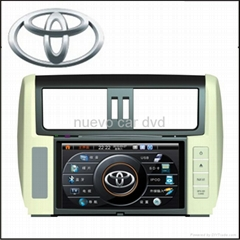 Special Toyota New Land Cruiser Prado DVD Player with GPS Navigation(2010-)